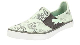 Puma Women Green Sneakers