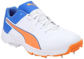 PUMA Spike 19.1 Cricket Shoes For Men ( White )