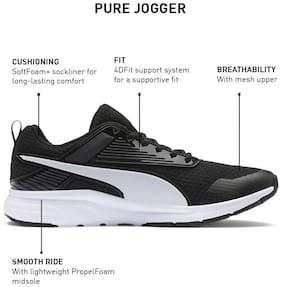 Puma Men Pure Jogger Pro Running Shoes ( Black )