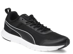 Puma Men Keen IDP Black-Quarry-White Running Shoes ( Black )