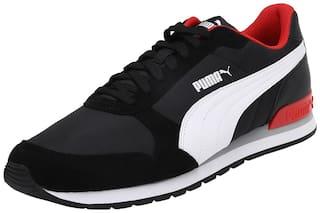 Puma ST Runner v2 NL Classic Sneakers Shoes For Men (Black)