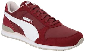Sneakers Shoes For Unisex ( Red )