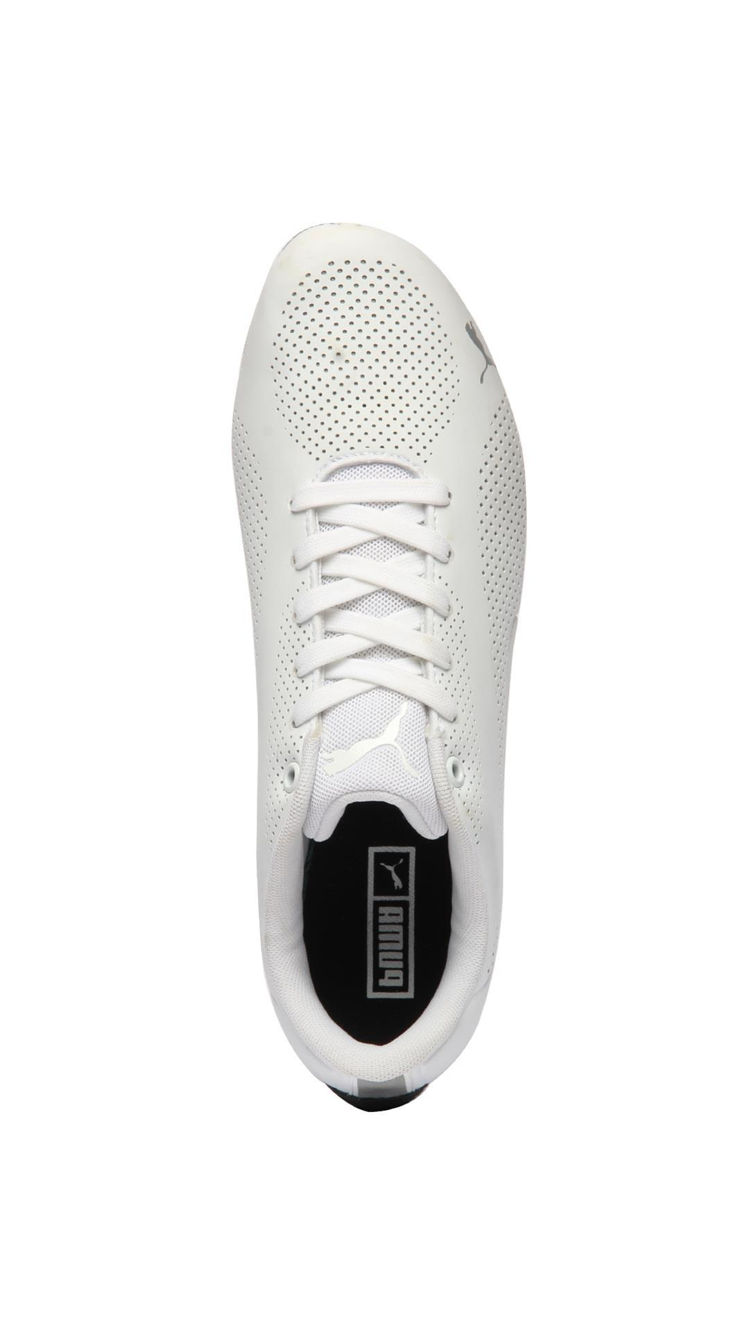 945ffc9e8436d3 Buy Puma Unisex Drift Cat Ultra Reflective White Sneakers Shoes Online at  Low Prices in India - Paytmmall.com