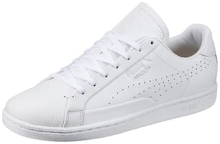 f5df5ae2565110 Buy Puma Unisex Match 74 Tumbled White Sneakers Shoes Online at Low ...