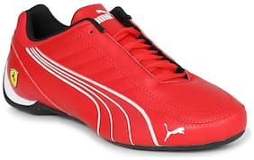 Casual Shoes For Unisex ( Red )