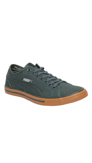 bf3a533ae4ad07 Buy Puma Unisex Yale Gum Solid Green Sneakers Shoes Online at Low ...