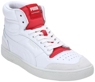 Puma RalpSmpsnMidR.DaslerLegcyCOL Classic Sneakers Shoes For Men (White)