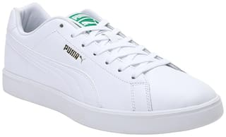 Puma Match Star Classic Sneakers Shoes For Men (White)