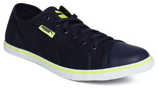 a1711c2b4c5c80 Buy Puma Men Navy Blue Sneakers - 36176104 Online at Low Prices in ...