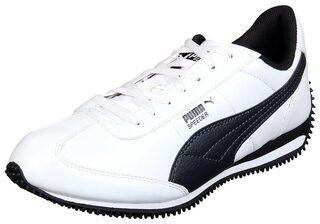 Puma Men White Walking Shoes