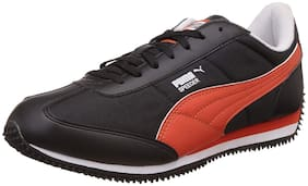 Puma Men speeder Running Shoes ( Black )