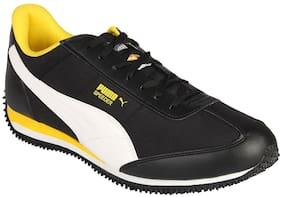 Puma Men speeder Running Shoes ( Black )