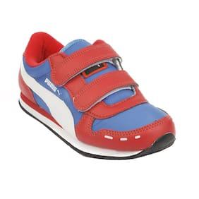 Puma Women's Cabana Velcro Jr DP White Sneakers