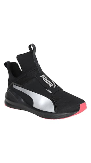 Buy Puma Women Black Running Shoes Online at Low Prices in India ... d1eda03dd