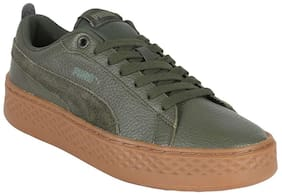Puma Women Green Sneakers
