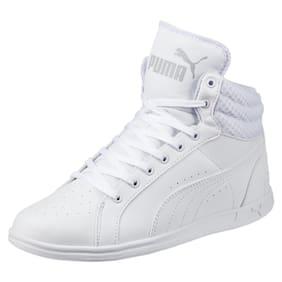 Puma Women's Ikaz Mid v2 White Sneakers Shoes