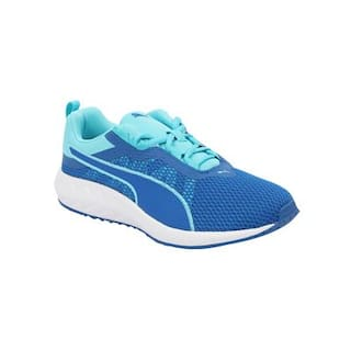 e62bdc7f2830 Buy Puma Women s Flare 2 Wn s Blue Running Shoes Online at Low ...