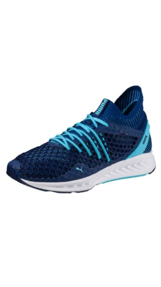 e4bca8acb13 Buy Puma Women s Ignite Netfit Blue Running Shoes Online at Low ...