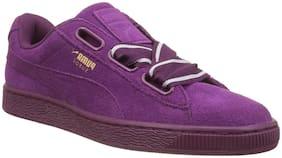 Puma Women Purple Sneakers