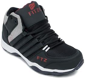 Putthi Men Running Shoes ( Grey )