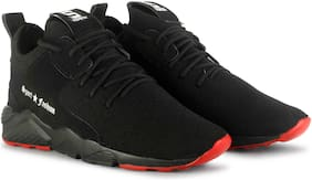 Putthi Men Running Shoes ( Black )