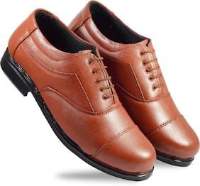R-ME Men Tan Oxford Formal Shoes - ARTICLE 12