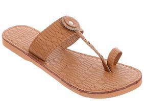 Women One Toe Flats ( Tan )