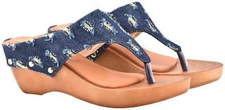 Raien Fashion Women Blue Sandals