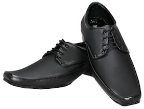 Raj Mens Black Formal Lace Up Shoes