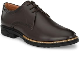 RAY J Men Brown Brogues Formal Shoes - RJ2008