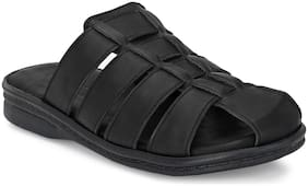 Men Sandals ( Black )