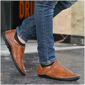 RAY J Men Brown Casual Shoes - 4001