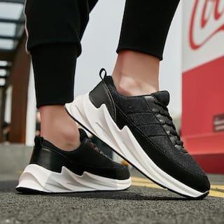 RAYSFIELD Men Black Athleisure Sneakers - 928