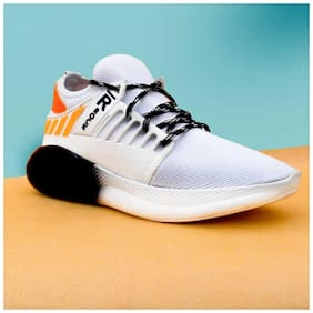 raysfield mens White sports shoes Running Shoes For Men ( White )