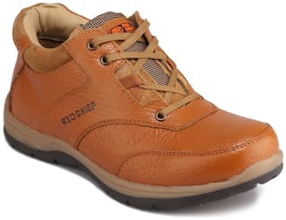 Red Chief Men's Tan Casual Leather Shoes Rc3421 107