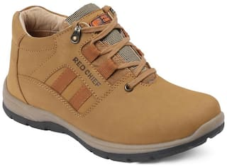 Red Chief Men Tan Casual Shoes - RC3424 022