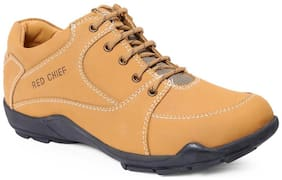 Red Chief Men's Rust Casual Leather Shoes Rc3429 022