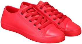 Imported Red Casual Shoes (Sneakers Shoes) Sneakers For Men