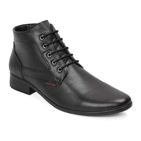 Red Chief Men Black Boot - Co289600107