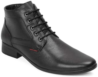 Red Chief Men's Black Chukka Boots