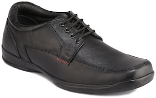Red Chief Men Black Derby Formal Shoes - RC3499