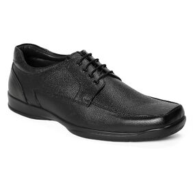 Red Chief Men's Black Formal Leather Shoes Rc3499 001