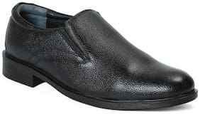 Red Chief Men's Black Formal Leather Shoes Rc3502 001