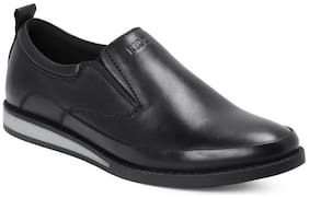 Red Chief Men's Black Casual Leather Shoes Rc3486 001