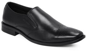 Red Chief Men Black Formal Shoes - Rc3468 001