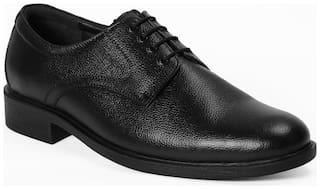 Red Chief Men Black Derby Formal Shoes - RC3501