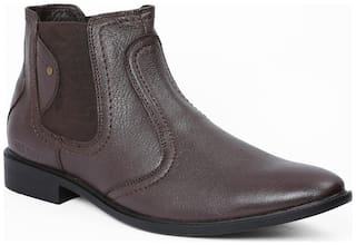 Red Chief Men Brown Ankle Boots - RC3498