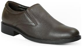 Red Chief Men's Brown Formal Leather Shoes Rc3502 003