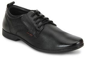 Red Chief Men Black Formal Shoes - Rc3462