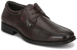 Red Chief Men'S Brown Formal Leather Shoe Rc3524 003